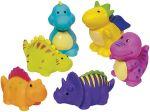Wasserspritzer Dinosaurier sortiert, per Stück  Jongliertuch / Chiffontuch gelb Wasserspritzer Ente, per Stück Klopfspecht...