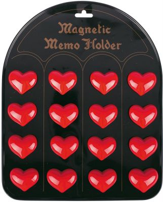 Magnethalter Herz per Stück Magnethalter Herz per Stück Magnethalter Marienkäfer per Stück Magnethalter ...