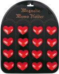 Magnethalter Herz per Stück  Magnethalter Herz per Stück Memohalter Magnete, Motive sortiert, per Stück ...