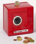 Metalltresor (rot)  Metalltresor (rot) Metalltresor (blau) Geldkassette mit Kombinationsschloss...