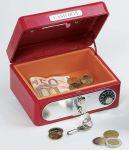 Geldkassette mit Kombinationsschloss (rot)  Metalltresor (rot) Metalltresor (blau) Geldkassette mit Kombinationsschloss...
