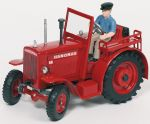 Hanomag R40 Traktor mit Figur  Hanomag R40 Traktor mit Figur Deutz Traktor F1L514/51 mit Figur Lokomotive ...