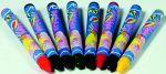 Textilmalstifte mit 8 Farben  Hammer Astscheiben Buchstaben-Würfel / Fädelwürfel - Sortiment natur Baumwo...