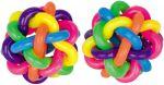 Regenbogenball / Gummiball / Flummy per Stück  Jonglierbälle - 3er Set Regenbogenball / Gummiball / Flummy per Stück Gummi...