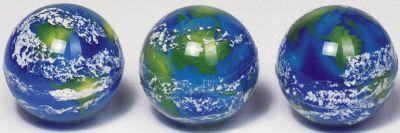 Flummy Erde per Stück Flummy Erde per Stück Jonglierbälle - 3er Set Regenbogenball / Gummiball / F...
