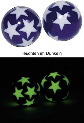 Flummy / Gummiball Sterne mit Leuchteffekt per Stück Flummy / Gummiball Sterne mit Leuchteffekt per Stück Jonglierbälle - 3er Set...