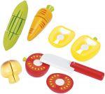 Gemüse-Set mit schönen großen Teilen und Klettverbindung, 12-teilig  Wurstaufschnitt-Set mit Tablett, 11-teilig Käseaufschnitt-Set mit Tablett, ...