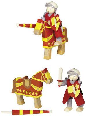 Biegepuppe Ritter Artus mit Pferd Biegepuppe Ritter Artus mit Pferd Biegepuppe Königin Biegepuppen-Set City Fa...