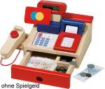 Kaufmannsladenkasse mit Taschenrechner  Wurstaufschnitt-Set mit Tablett, 11-teilig Käseaufschnitt-Set mit Tablett, ...
