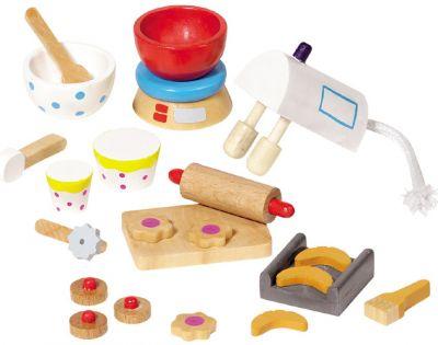 Accessoires / Zubehör-Set Backen für das Puppenhaus 22-teilig Accessoires / Zubehör-Set Backen für das Puppenhaus 22-teilig Einrichtung - ...