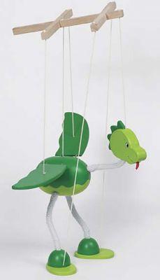 Marionette - Dinosaurier Nepomuk Marionette - Dinosaurier Nepomuk Marionette - Strauss Marionette - Giraffe M...