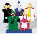 Handpuppe - Gretel  Handpuppe - Krokodil Handpuppe - Wolf Handpuppenset mit 12 Figuren Handpupp...