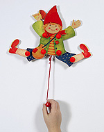 Hampelfigur - Junge  Hampelfigur - Junge Hampelfigur - Mädchen...