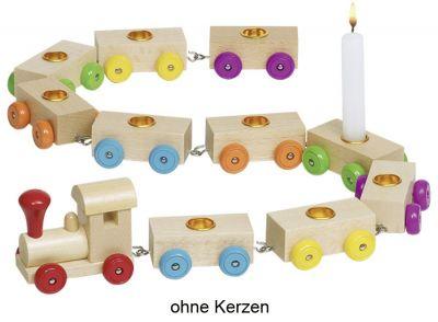 Geburtstagszug mit Lok und 10 Anhängern Geburtstagszug mit Lok und 10 Anhängern Geburtstagsraupe Camila mit Zahlen v...
