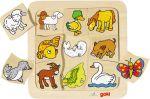"""Zuordnungspuzzle / Legespiel """"Wer gehört zu wem?""""  Einlegepuzzle - Alphabet ABC Einlegepuzzle / Anlegepuzzle Tierkreis Einlege..."""