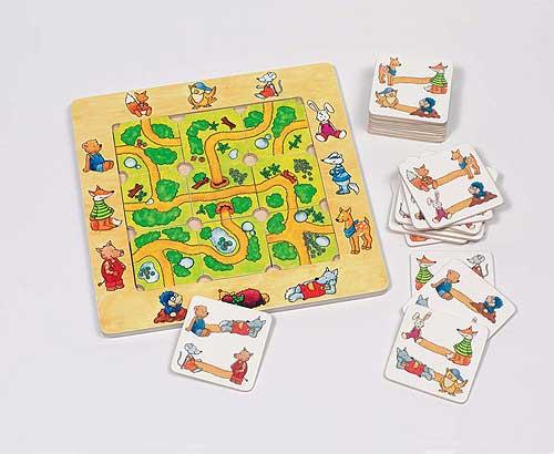 Legepuzzle - Finde deinen Weg! Legepuzzle - Finde deinen Weg! Anziehpuzzle - Bärenfamilie Anlegepuzzle Alph...