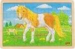 Einlegepuzzle Sommer auf der Pferdewiese 24-teilig  Einlegepuzzle - Alphabet ABC Einlegepuzzle / Anlegepuzzle Tierkreis Einlege...