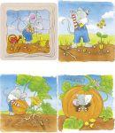 """Schichtenpuzzle """"Was wächst denn da?"""" mit 4 Schichten  Schichtenpuzzle Schnecke mit 4 Schichten Schichtenpuzzle Elefant mit 5 Schi..."""