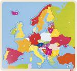 Einlegepuzzle Europa 35-teilig  Einlegepuzzle - Alphabet ABC Einlegepuzzle / Anlegepuzzle Tierkreis Einlege...