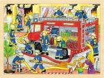 Einlegepuzzle Feuerwehreinsatz 48-teilig  Einlegepuzzle - Alphabet ABC Einlegepuzzle / Anlegepuzzle Tierkreis Einlege...