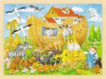 Einlegepuzzle Einzug in die Arche Noah 96-teilig  Einlegepuzzle - Alphabet ABC Einlegepuzzle / Anlegepuzzle Tierkreis Einlege...