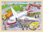 Einlegepuzzle Flughafen 96-teilig  Einlegepuzzle - Alphabet ABC Einlegepuzzle / Anlegepuzzle Tierkreis Einlege...