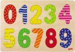 Einlegepuzzle Zahlen 0 - 9 modern  Einlegepuzzle - Alphabet ABC Einlegepuzzle / Anlegepuzzle Tierkreis Einlege...