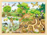 Einlegepuzzle Erlebnis Natur 96-teilig  Einlegepuzzle - Alphabet ABC Einlegepuzzle / Anlegepuzzle Tierkreis Einlege...
