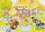 Holzpuzzle Omas und Opas Bauernhof 48-teilig in praktischer Stülpdeckelverpackung  Legepuzzle - Finde deinen Weg! Holzpuzzle Omas und Opas Bauernhof 48-teilig...