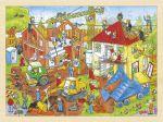 Einlegepuzzle Baustelle 96-teilig  Einlegepuzzle - Alphabet ABC Einlegepuzzle / Anlegepuzzle Tierkreis Einlege...