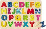 Einlegepuzzle ABC modern A - Z  Einlegepuzzle - Alphabet ABC Einlegepuzzle / Anlegepuzzle Tierkreis Einlege...