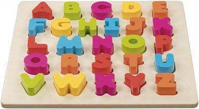 ABC-Holz-Puzzle 3-D ABC-Holz-Puzzle 3-D Einlegepuzzle - Alphabet ABC Einlegepuzzle / Anlegepuzzl...