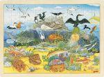 Einlegepuzzle über und unter Wasser 96-teilig  Einlegepuzzle - Alphabet ABC Einlegepuzzle / Anlegepuzzle Tierkreis Einlege...