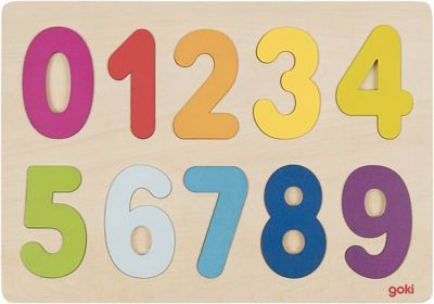 Einlegepuzzle Zahlen 0-9 Einlegepuzzle Zahlen 0-9 Einlegepuzzle - Alphabet ABC Einlegepuzzle / Anlege...