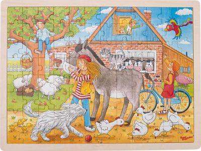 Einlegepuzzle Peggy auf dem Bauernhof, Peggy Diggledey 96-teilig Einlegepuzzle Peggy auf dem Bauernhof, Peggy Diggledey 96-teilig Einlegepuzz...