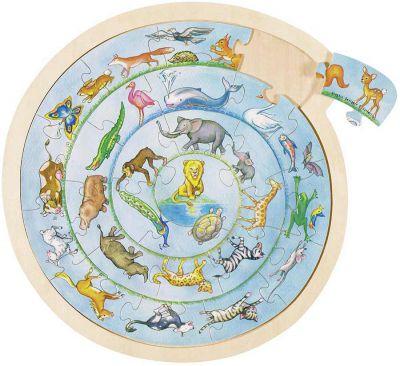 Einlegepuzzle / Anlegepuzzle Tierkreis Einlegepuzzle / Anlegepuzzle Tierkreis Einlegepuzzle - Alphabet ABC Einlegep...