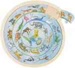 Einlegepuzzle / Anlegepuzzle Tierkreis  Einlegepuzzle - Alphabet ABC Einlegepuzzle / Anlegepuzzle Tierkreis Einlege...