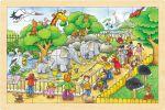 Einlegepuzzle Zoobesuch 24-teilig  Einlegepuzzle - Alphabet ABC Einlegepuzzle / Anlegepuzzle Tierkreis Einlege...