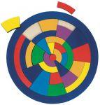 Einlegepuzzle Kreis  Einlegepuzzle - Alphabet ABC Einlegepuzzle / Anlegepuzzle Tierkreis Einlege...