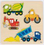 Einlegepuzzle Baufahrzeuge  Einlegepuzzle - Alphabet ABC Einlegepuzzle / Anlegepuzzle Tierkreis Einlege...