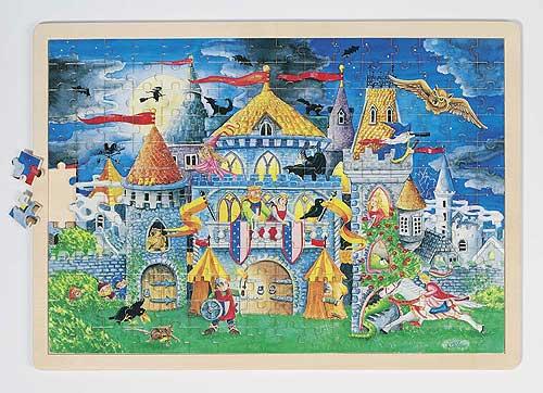 Einlegepuzzle - Märchenstunde Einlegepuzzle - Märchenstunde Einlegepuzzle - Alphabet ABC Einlegepuzzle / ...