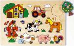Steckpuzzle - Bauernhof VI  Steckpuzzle - Spielzeug klein Steckpuzzle - Bauernhof VI Steckpuzzle Verkeh...