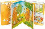 Holz-Bilderbuch Der kleine Bär mit 8 Bildern, per Stück  Bilderbuch mit Rassel, Quietscher und Knisterfolie Holz-Bilderbuch Besuch i...