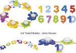 Geburtstagskette Tiere mit Zahlen von 1 - 10  Geburtstagsraupe Camila mit Zahlen von 1 - 9 Geburtstagskranz mit Figurense...