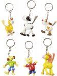Schlüsselwächter / Schlüsselanhänger Tiermotive - 6er Set  Schlüsselwächter / Schlüsselanhänger Tiermotive - 6er Set Schlüsselanhänger...