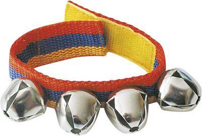 Schellenband für Arme und Beine mit 4 Glocken Schellenband für Arme und Beine mit 4 Glocken Blockflöte Xylophon aus Metall...