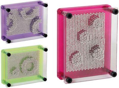 3-D Pin-Art - kreatives Nagelspiel per Stück 3-D Pin-Art - kreatives Nagelspiel per Stück Jongliertuch / Chiffontuch gel...