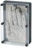 Pin-Art mit Metallpins  Jongliertuch / Chiffontuch gelb Wasserspritzer Ente, per Stück Klopfspecht...