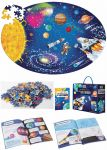 """Riesenpuzzle """"Der Weltraum"""" mit 205 Teilen und einem schlauen Buch - Puzzlegröße 98 x 67 cm  Riesenpuzzle Die Erde mit 205 Teilen und einem schlauen Buch - Puzzlegröße ..."""