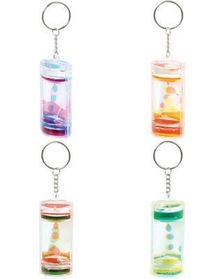 Schlüsselanhänger Liquid Motion Bubbler per Stück Schlüsselanhänger Liquid Motion Bubbler per Stück Schlüsselwächter / Schlüss...